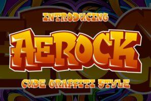 Aerock - Layered Graffiti Style