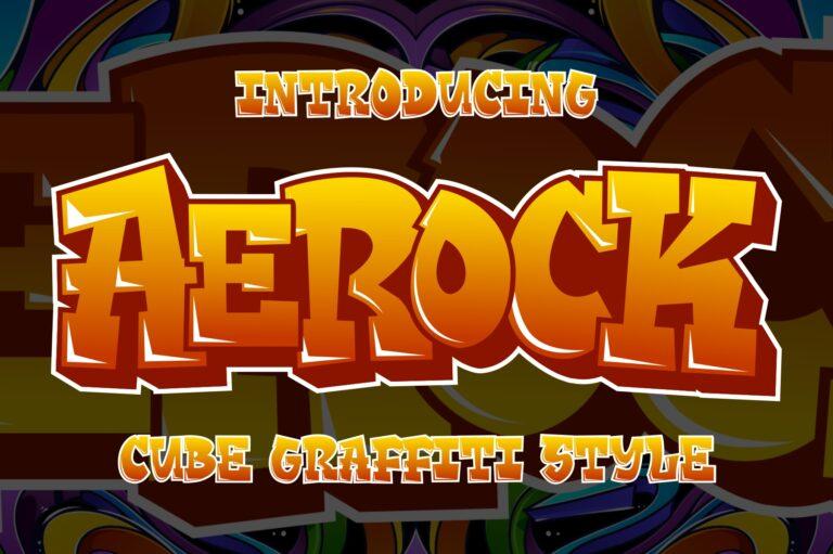 Preview image of Aerock – Layered Graffiti Style