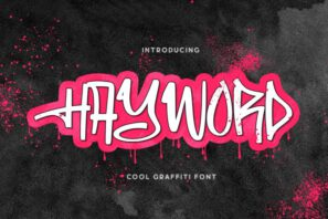 Hayword - a Graffiti Style