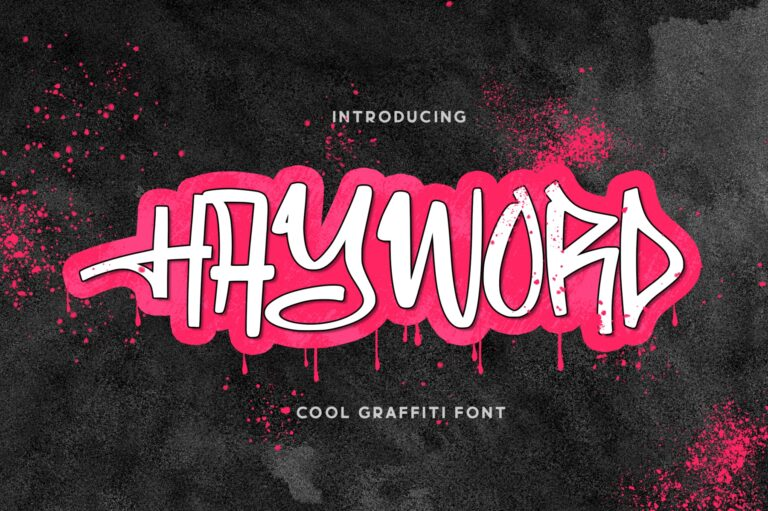 Preview image of Hayword – a Graffiti Style