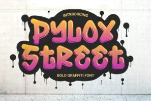 Pylox Street - Bold Graffiti Font