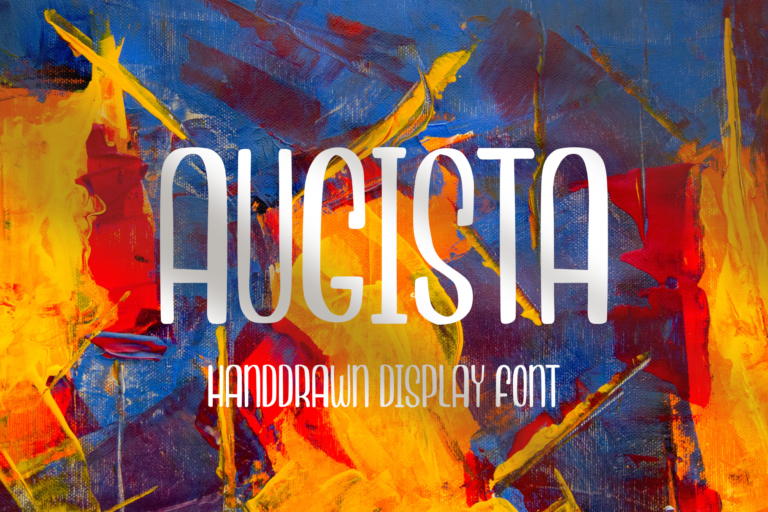 Preview image of Augista – Handdrawn Display