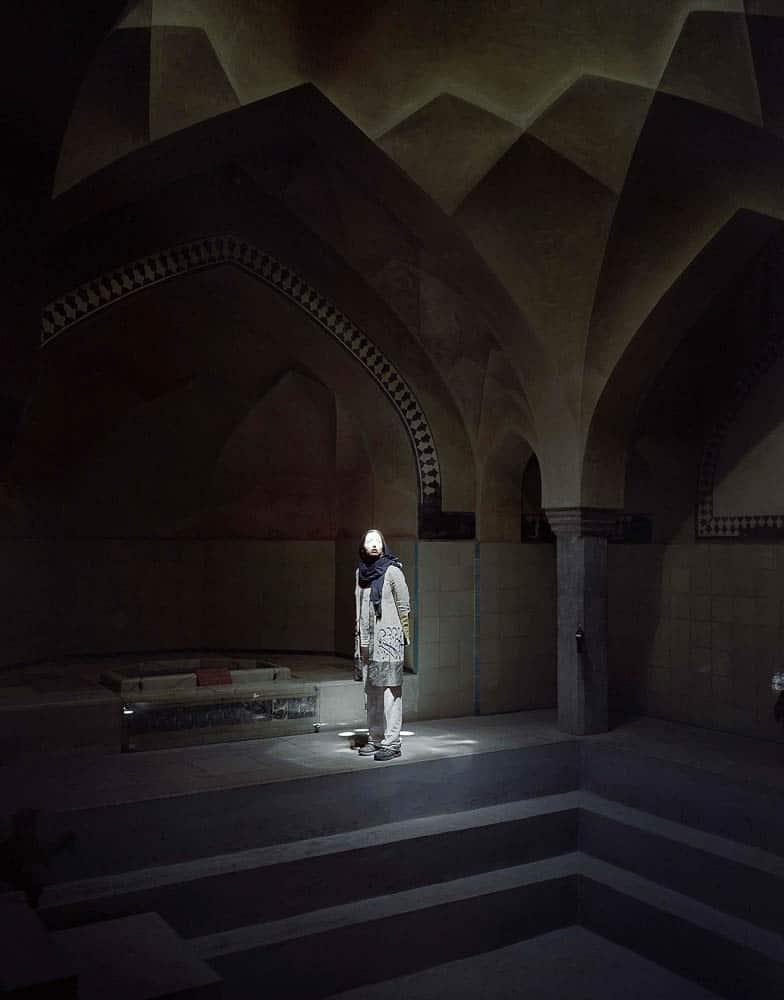 Hoda Afshar, Exodus, I love you more, 2014, photographic series
