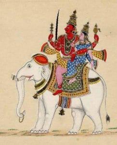 indra-on-elephant