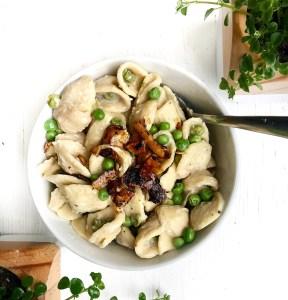 creamy vegan pasta