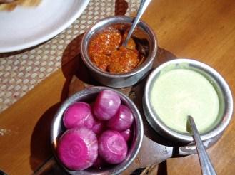 Vinegar Onions and Chutney