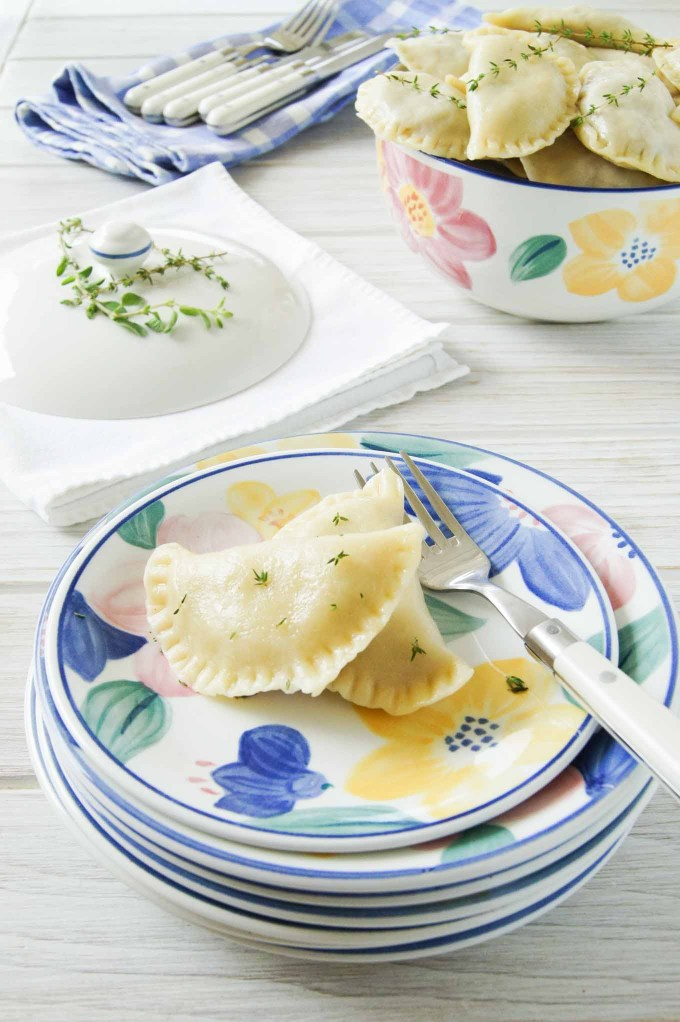 Easy to follow, step by step recipe with pictures of Pierogi with Sauerkraut and Mushroom Filling - all time favourite Christmas, Polish dish.