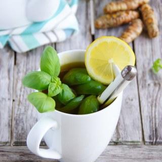 TURMERIC BASIL DETOX TEA