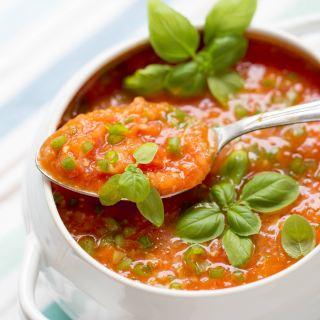 30 min FRESH TOMATO SOUP RECIPE