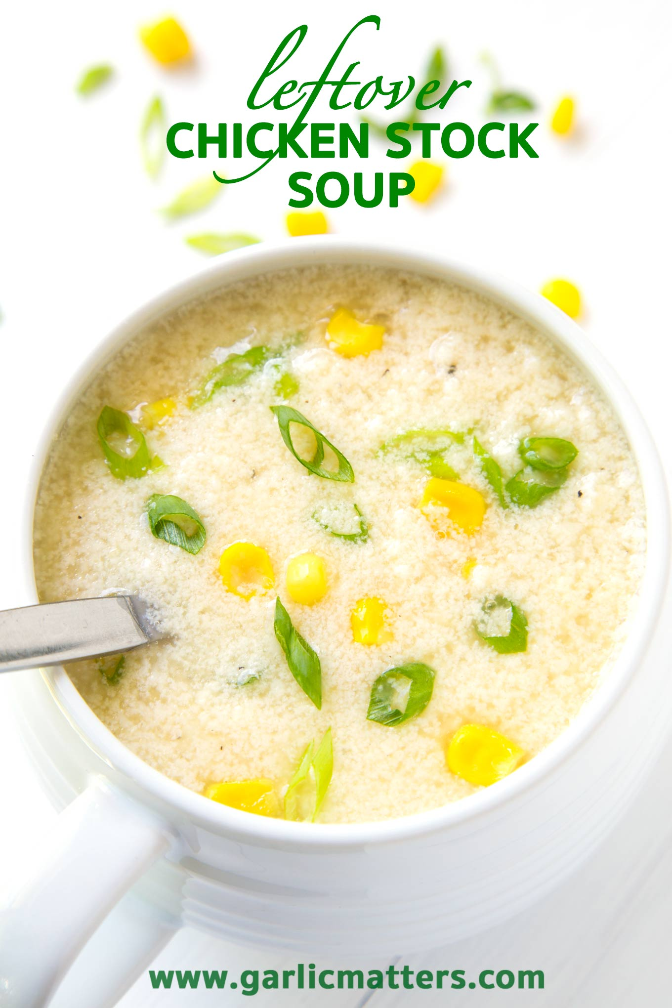 Leftover Chicken Stock Soup Recipe is an easy, nutritious and budget friendly meal - ready in under 1 hour.