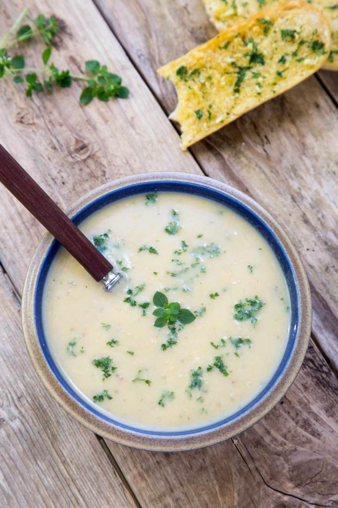 Split Pea and Bacon Soup recipe is easy to make - healthy and super tasty Autumn lunch idea.
