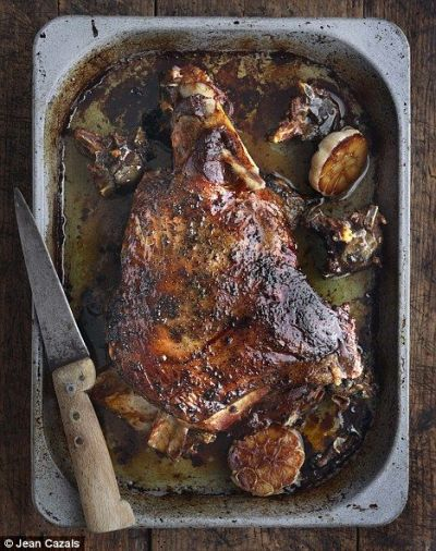 Slow Roast Lamb Shoulder Recipe from Daily Mail Magazine