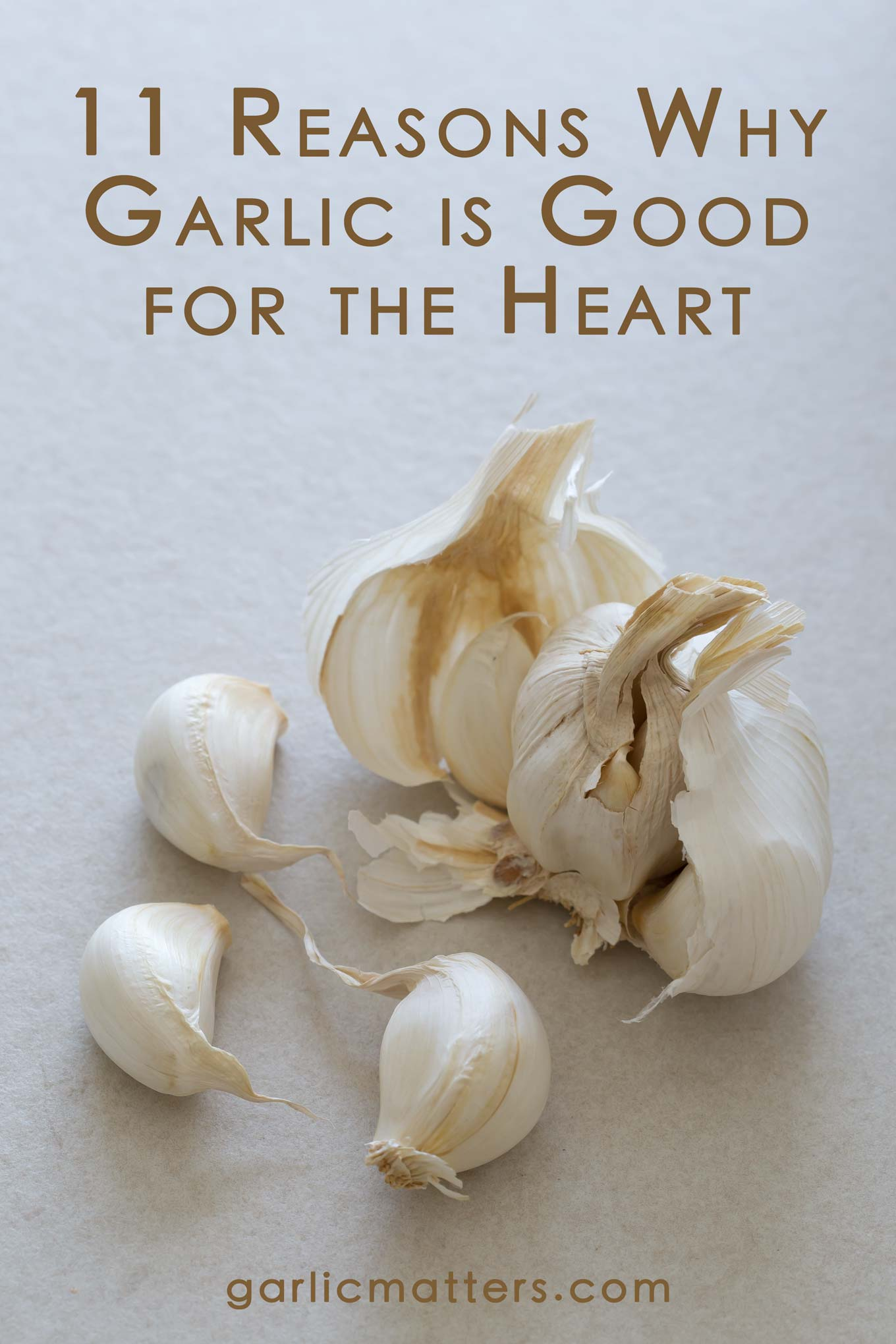 11 Reasons Why Garlic is Good for the Heart