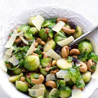 BEST BRUSSELS SPROUT SALAD FOR CHRISTMAS