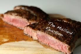 Maillard Reaction on steak