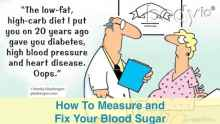fix your blood sugar