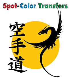 Spot Color Heat Transfers