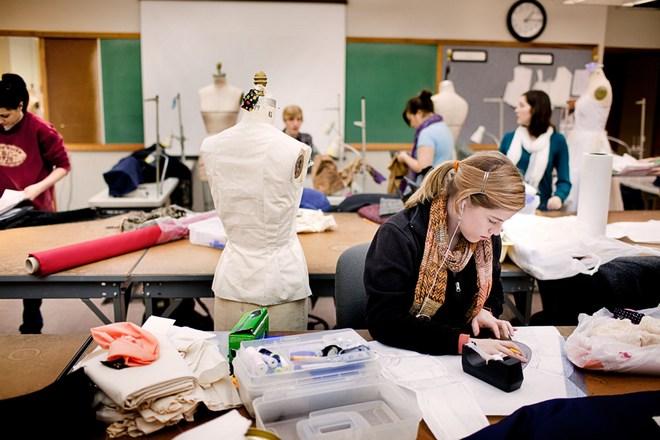 Garments merchandising process