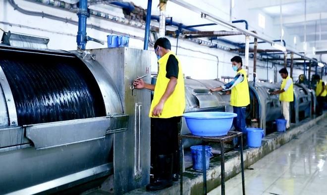 Garment Wet Process