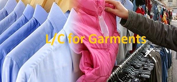 L/C for Garments