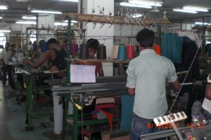 Sweater Manufacturing Process
