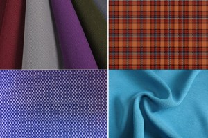 Fabrics used in shirt manufacturing