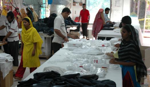 garments export
