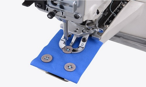 Button attaching sewing machine