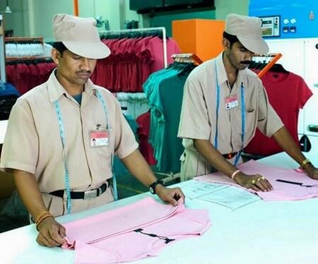 Sampling method followed in garment industry