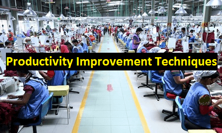 Sewing line in readymade apparel industry