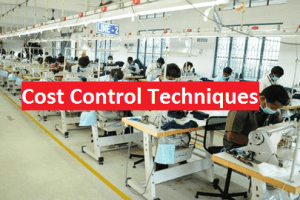 Sewing line of apparel production