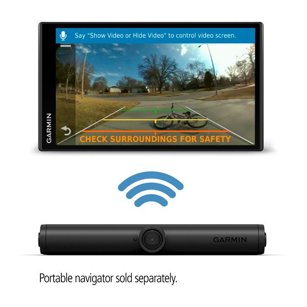 BC™ 40 Wireless Backup Camera With License Plate Mount