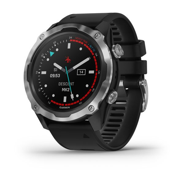 Descent™ Mk2 Stainless Steel with Black Band