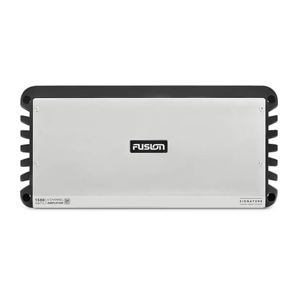 Fusion® Signature Series Marine Amplifiers, 24-Volt Signature Series 6 Channel 1500-Watt Marine Amplifier