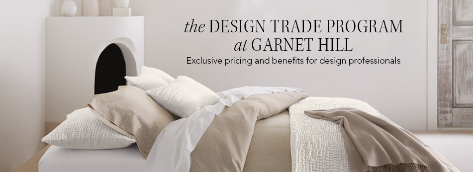 The Design Trade Program At Garnet Hill