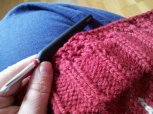 Crochet edge border to add length