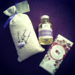 Aromatic gifts from my wonderful Swede after a visit to Provence.
