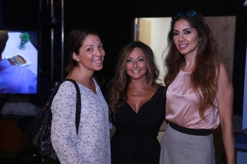 Publicist Heather Ashley, Producer, Cindy Garnick, Bravo's Dr. Tabasum Mir