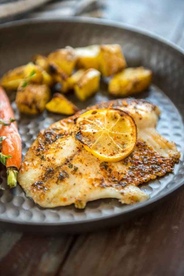 Baked Lemon Butter Tilapia