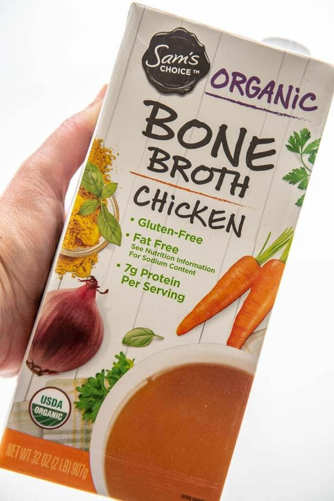 packaged bone broth for healthy chili recipe