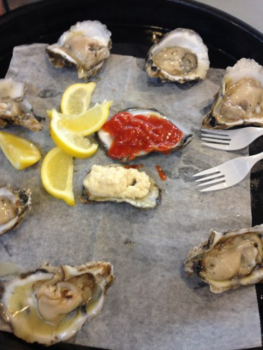 French Market - Oysters on the Half Shell