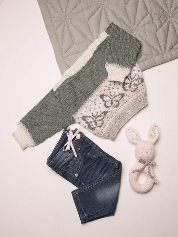 Sommerfugl genser