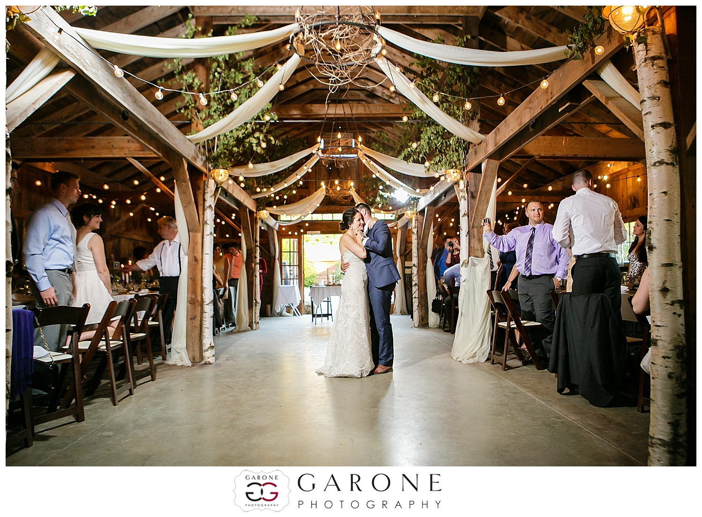 Kristen and Ryan  Longlook Farm Sanbornton NH  NH Fall Wedding  Garone Photography