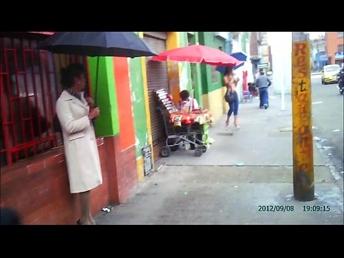 Real Street Prostitutes of Bogota, Colombia, part 1 of 3, Red Light District