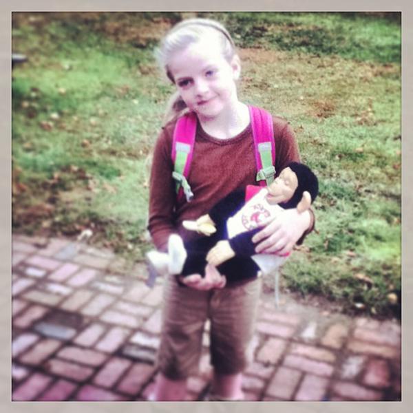 Criança Fantasia Jane Goodall