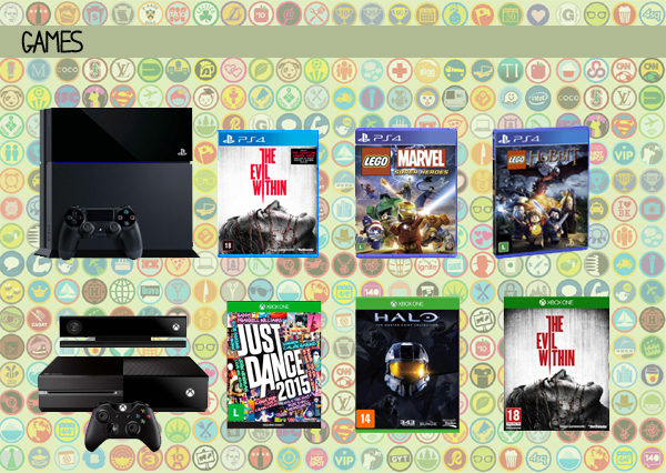 Dicas Presentes Nerds - Games