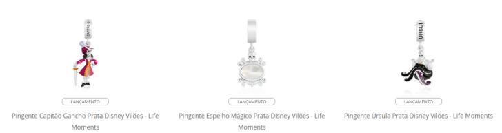 Life by Vivara lança coleção inspirada em vilões Disney