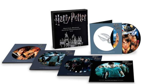 Trilha sonora de Harry Potter é lançada em box colecionável de vinil