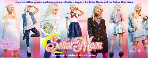 Hot Topic lança coleção Sailor Moon