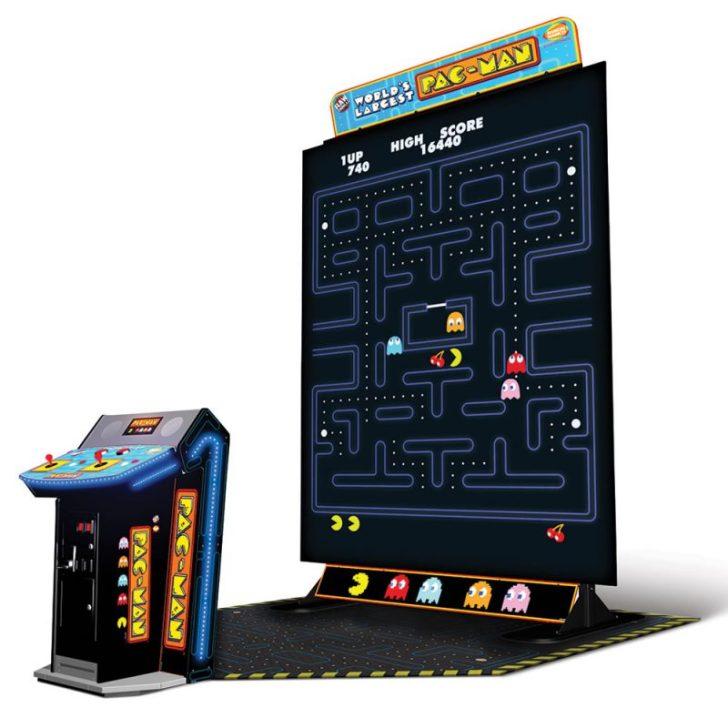 Pac-Man: O maior fliperama que esse mundo já viu!